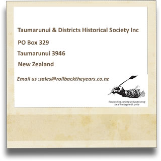 Contact Us at the Taumarunui & Districts Historical Society